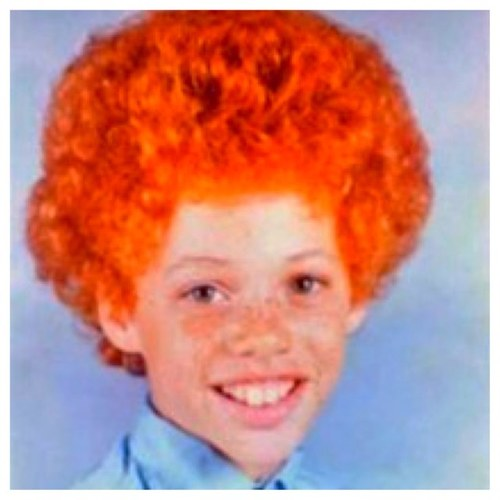 ugly red hair pictures