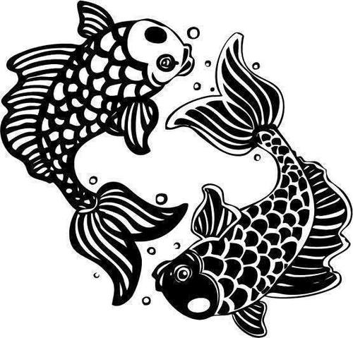 Signe du poisson horoscopoisson twitter - Dessin poisson simple ...