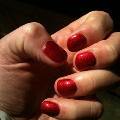 Nail Polish Guy On Twitter Bright Red Nails Simple Elegant And