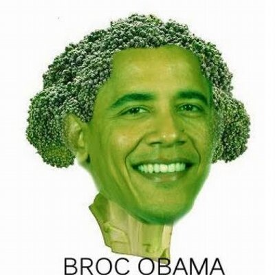 Image result for broccoli obama