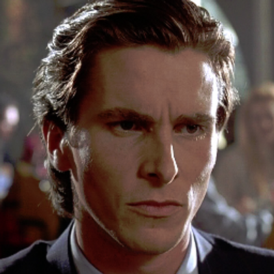 Image result for patrick bateman