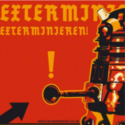 Exterminate Dalek German a German Dalek