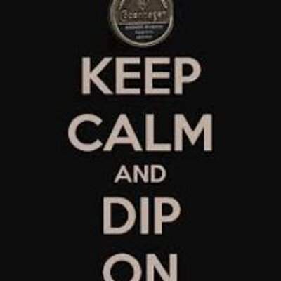 Keep Calm And Dip on Twitter: