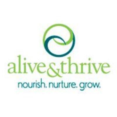 Alive & Thrive (@aliveandthrive) Twitter profile photo