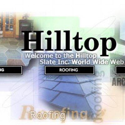 Hilltop Slate Inc Hilltopslate Twitter
