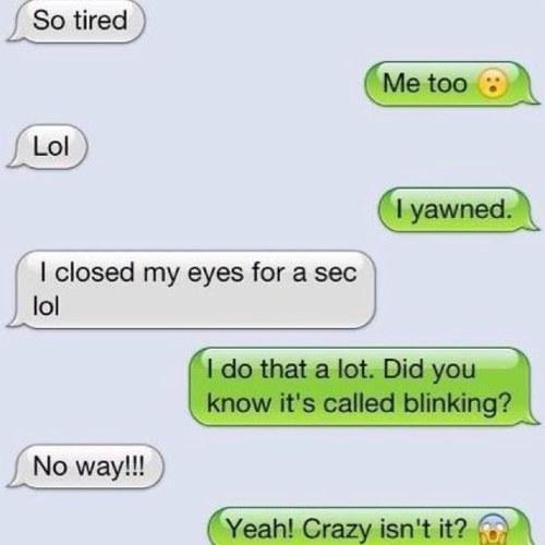 Freaky conversations