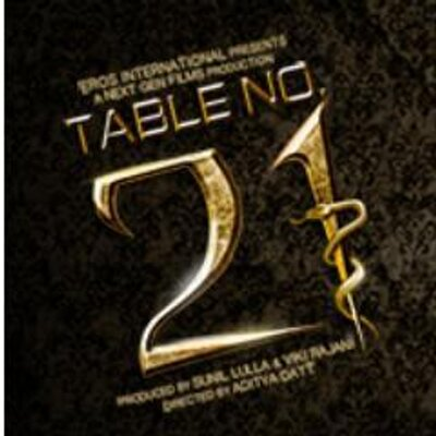 Table no 21 tableno21movie twitter for Table no 21 tattoo