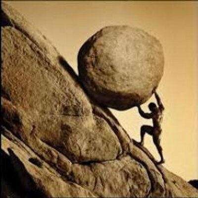 Young Sisyphus Tries To Move World >> Sisyphus Sisyphus38 Twitter