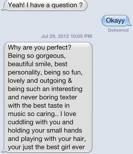 cute text messages to a girl