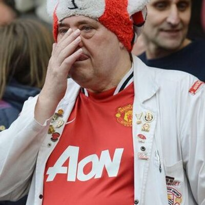 Man United Fans Make Me Cry