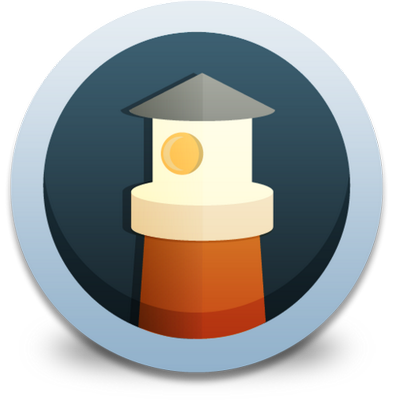 Lighthouse fluid icon 400x400