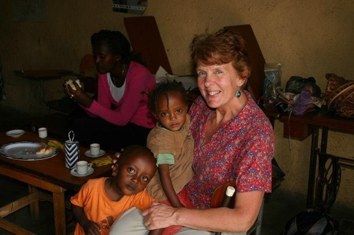 Image result for Helen Faulds founder of Poverty Swap