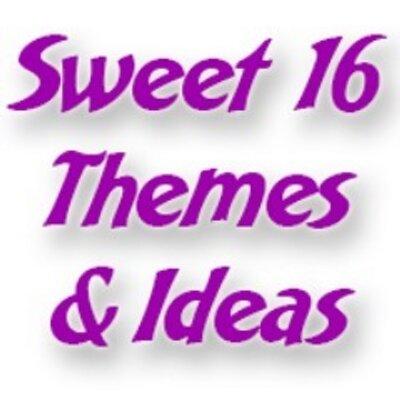 Sweet 16 Themes