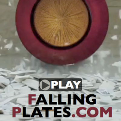 video falling plates