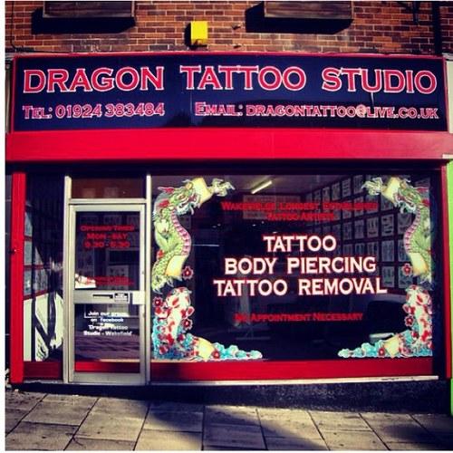 Dragon Tattoo Studio At Dragonwakefield Twitter