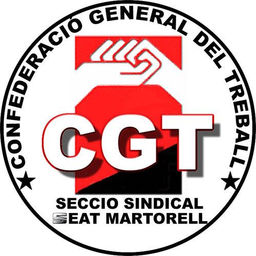 Logo CGT Martorell SEAT