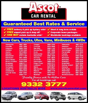 Car Rental Ascot
