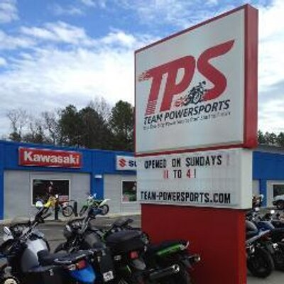 Team powersports teampowersports twitter for Yamaha dealer garner nc
