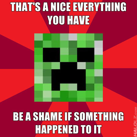 Funny Pictures Minecraft | yadbw.com