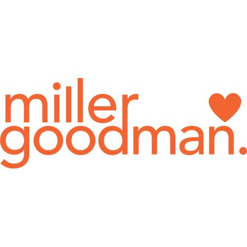 goodman logo. miller goodman logo