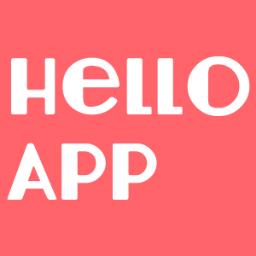 Hello App Hlo App Twitter