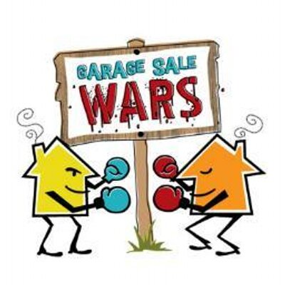 Garage Sale Wars YYC On Twitter Be Sure To Download The Yard Sale - Garage sale treasure map
