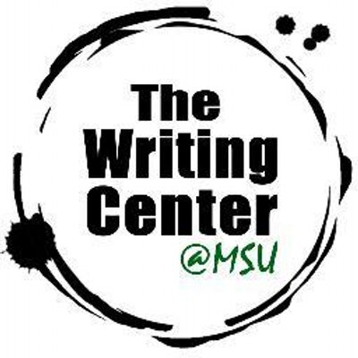 msu writing center The farnham writers' center works with students, faculty, staff, and local schools on all aspects of writing we seek to further a culture of writing at colby and in the community through peer tutoring, faculty support, and special writing events as a writing resource, we provide information on good writing practices and.