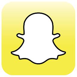 Snapchat logo via Snapchat Twitter page