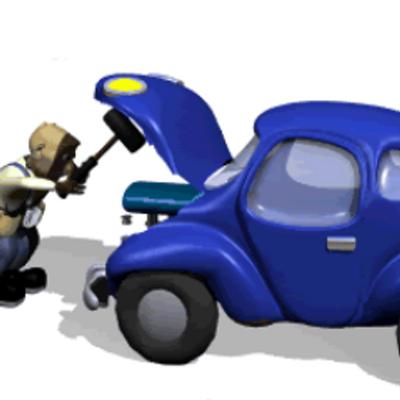 прикол анимация автослесарь