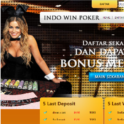 Indo Win Poker Indowinpoker Twitter