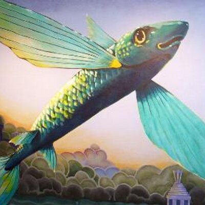 how to bake flying fish