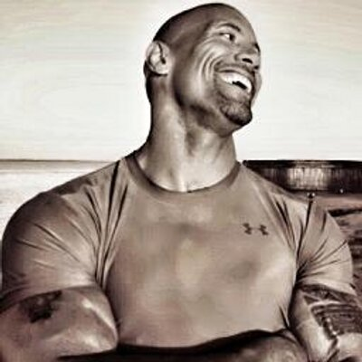 Twitter profile picture for Dwayne Johnson