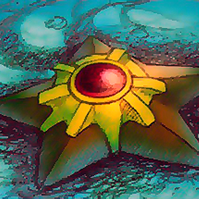 Resultado de imagem para staryu
