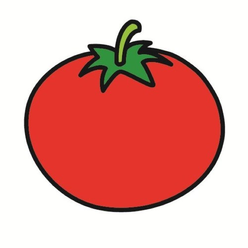 Une tomate une tomate twitter - Tomate dessin ...