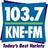 103.7 KNE FM!
