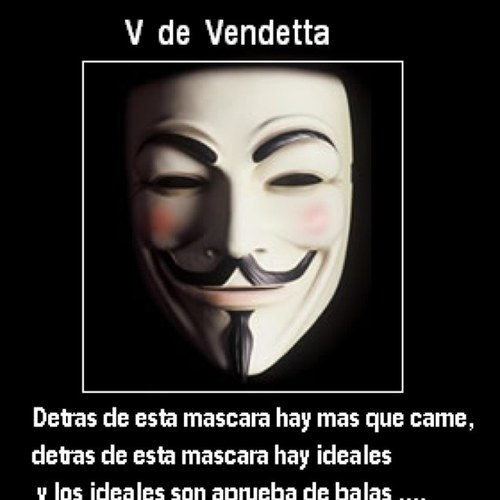 Profile V For Vendetta  Facebook