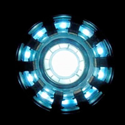 how to draw iron man arc reactor