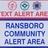 RDA Community Alert