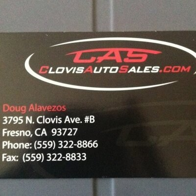Used Car Sales Fresno Clovis
