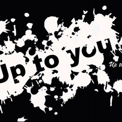 Up to you. (@to_uptoyou) | Twi...