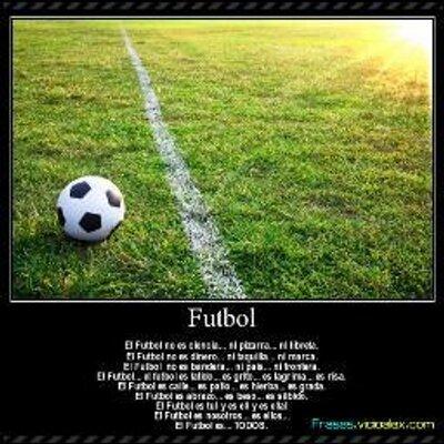 Frases De Futbol At Futbolenfrases Twitter