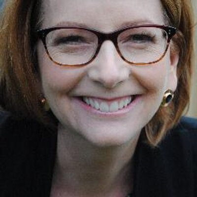 Julia Gillard's Twitter Profile Picture