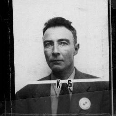 J Robert Oppenheimer At Oppenheimerocks Twitter