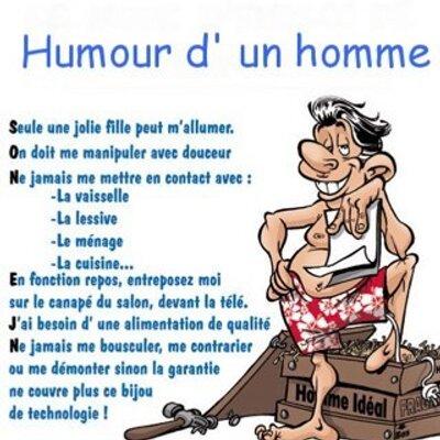 Humour On Twitter Quelle Est La Différence Entre Un Homme