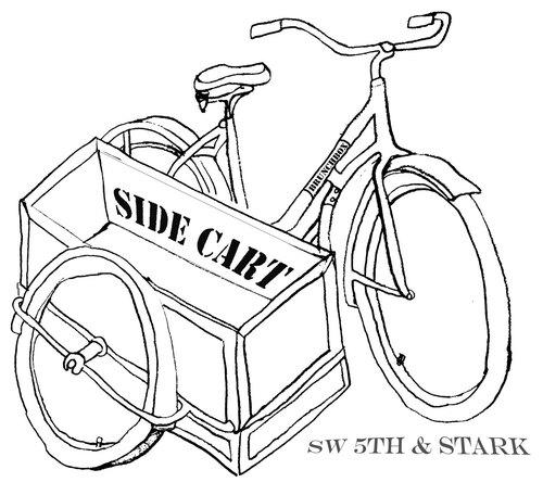 Cart Side Side Cart Food Cart