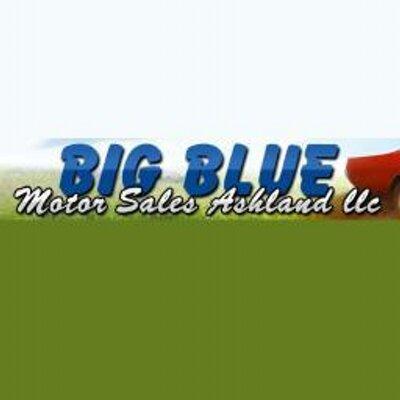 Bigbluemotorsalesash bigbluemotorash twitter for Big blue motor sales ashland