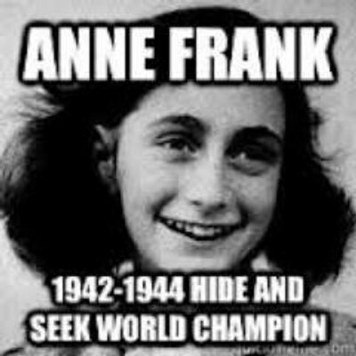 Anne Frank On Twitter Quot I Have Become A Symbol For The