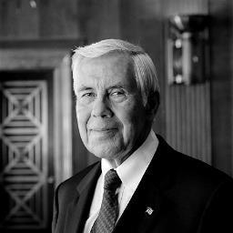 Richard Lugar, former Senator for