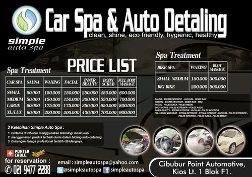 Car Detailing Malaysia Price