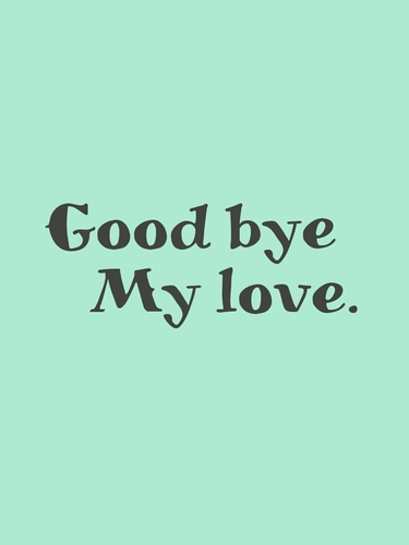 how to say goodbye my love in italian